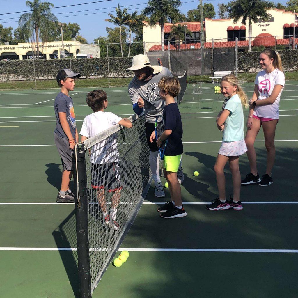 After school tennis for children