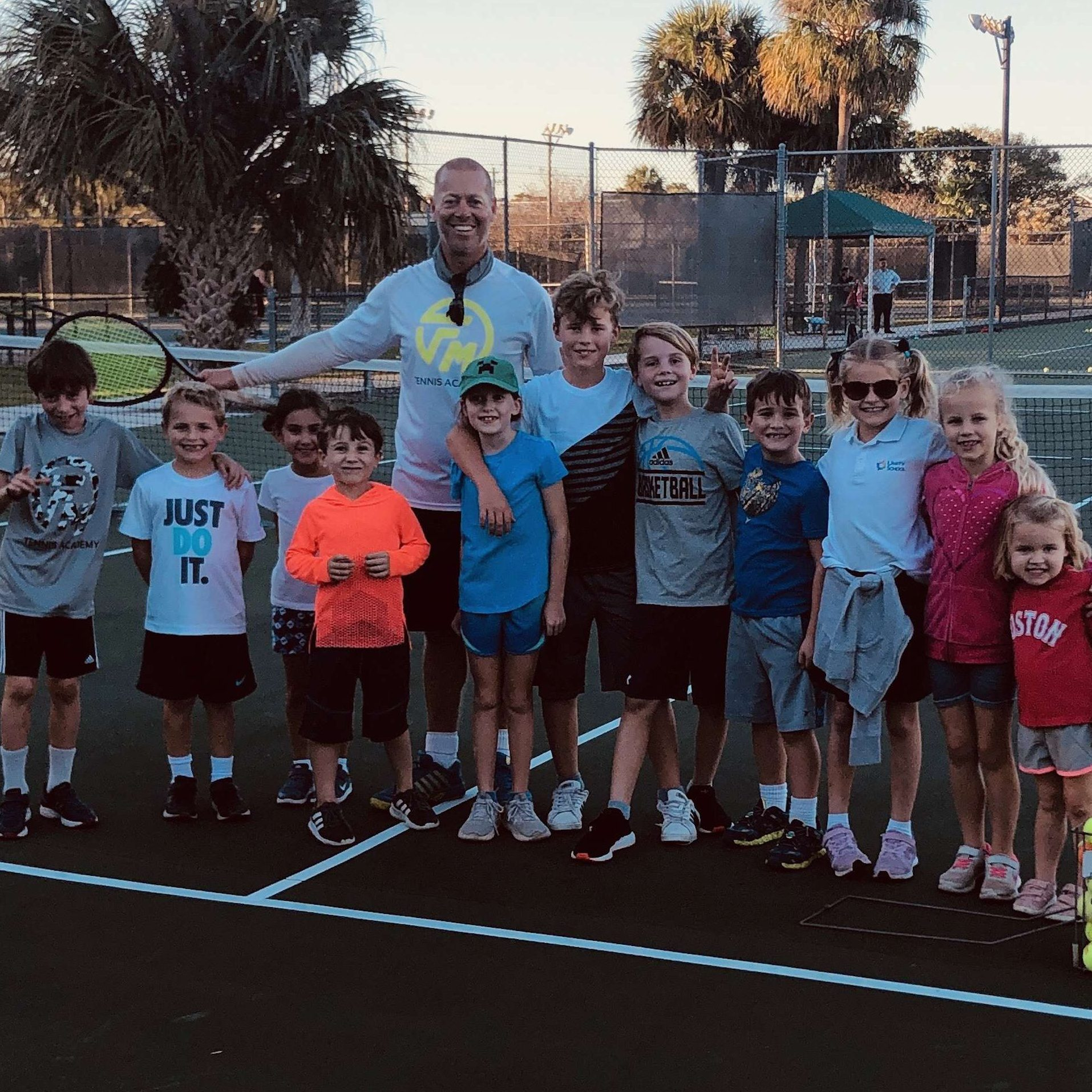Youth tennis with Allington Mutimer
