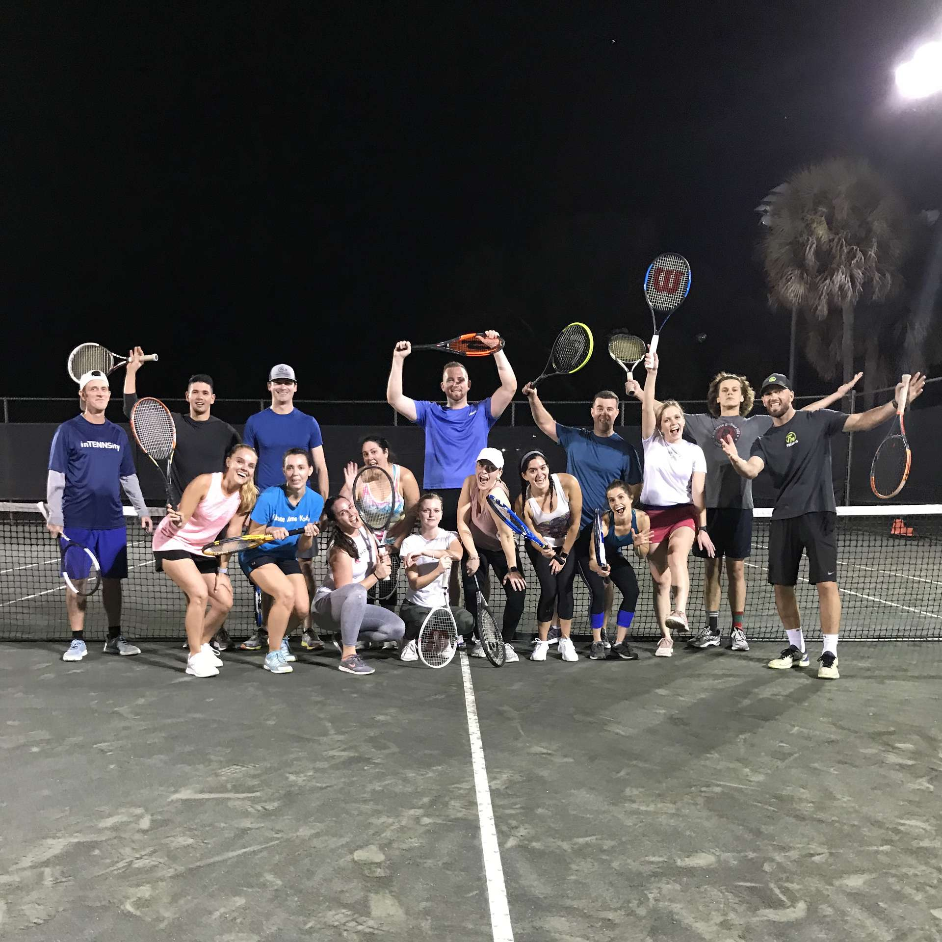 adult tennis players