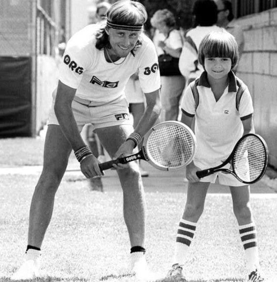 Bjorn Borg Seven Tennis Pandemics