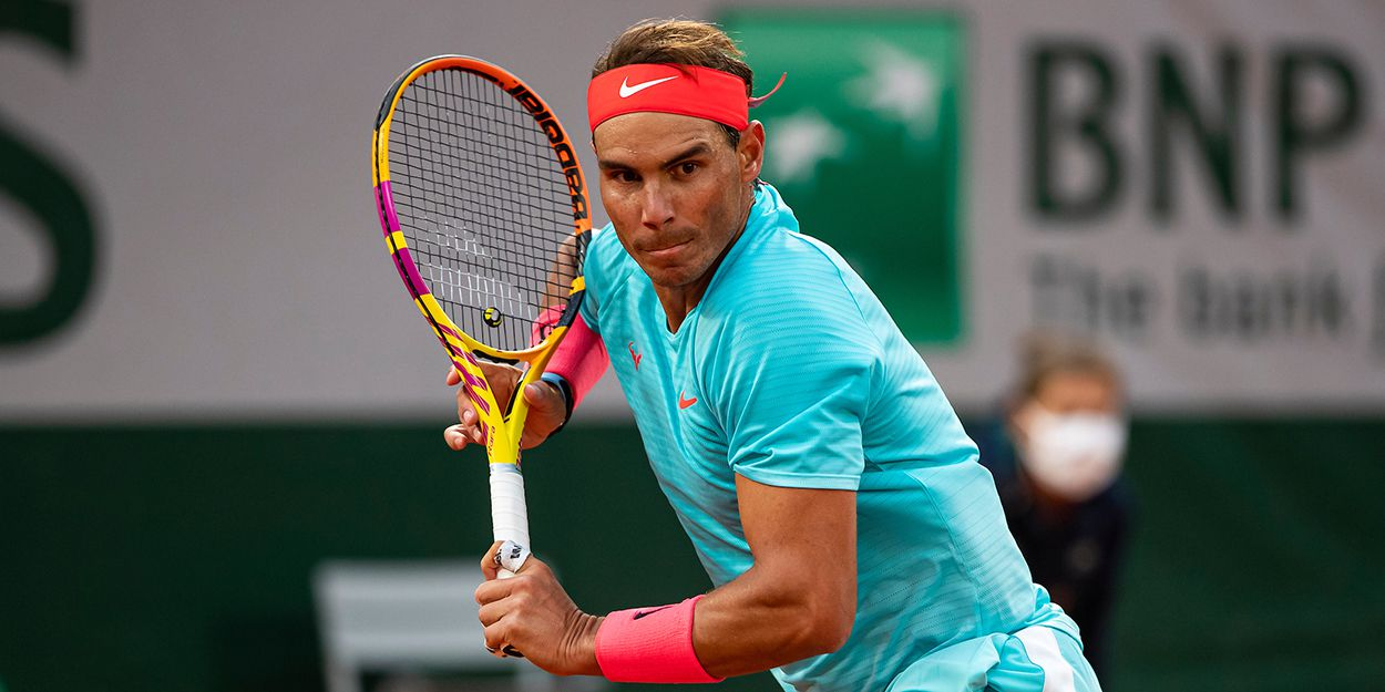 Rafael Nadal tennis backhand