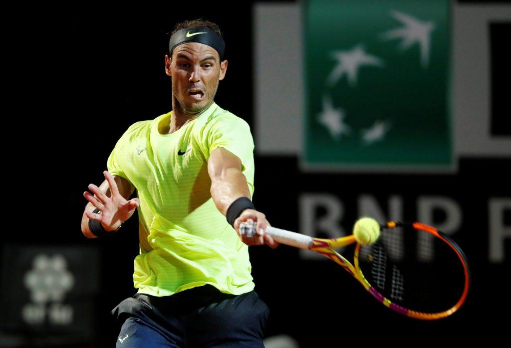 Rafael Nadal modern forehand