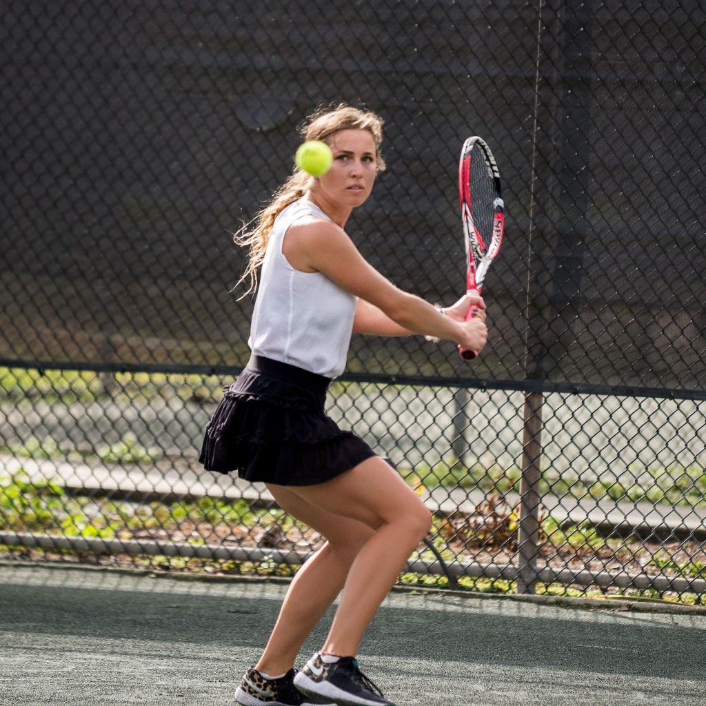 Olga Vobornova tennis lessons